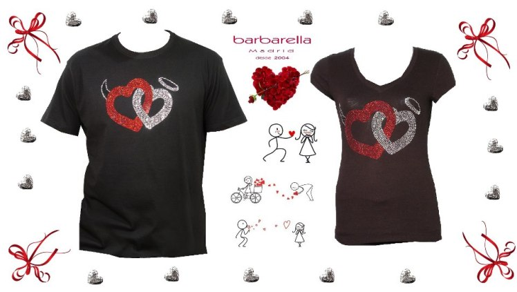 barbarella moda camiseta san valentín