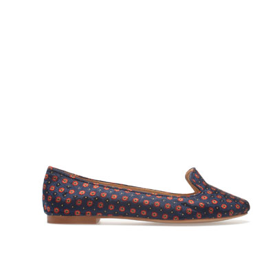 slipper estampado Zara